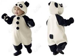 Áo Em Bé Hình Gấu Panda