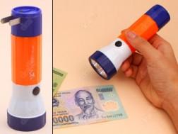 Đèn Pin Sạc Mini Soi Tiền Giả