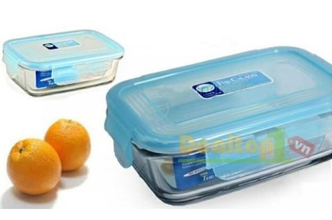 Bộ 3 hộp đựng thức ăn Glass&Lock ...