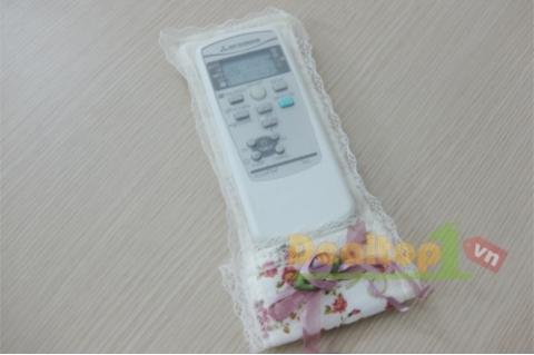 Combo 3 túi đựng Remote thêu hoa ...