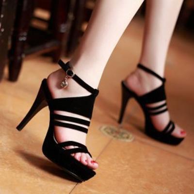 Giày Cao gót Đẹp Quai Hậu Thời Trang
