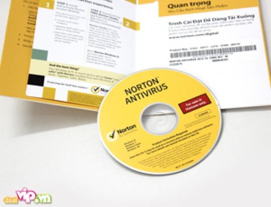 Phần Mềm Diệt Virus Norton Antivirus 2013 Bảo Vệ Máy Tính Của Bạn Khỏi Tất Cả Các Loại Virus Giá 180.000VND Giảm Còn 88.000VND Chỉ Có Tại Dealvip.vn