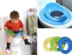 Tấm Lót Ngồi Toilet Cho Bé - Nhựa PVC Cao Cấp Bảo Vệ Bé Khỏi Những Vi Khuẩn Có Hại Và Tập Cho Bé Thói Quen Đi Vệ Sinh Như Người Lớn 65.000VND Giảm 46% So Với Giá Gốc 120.000VND Chỉ Có Tại Dealvip.vn - 1 - Khác - Sản phẩm cho bé