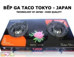 Bếp Ga Taco 503 RB Có Mặt Bếp Bằng Kiếng Chịu Lực Chịu Nhiệt Thiết Kế An Toàn Với Hệ Thống Đánh Lửa Magneto Giá 330.000VND Giảm 40% So Với Giá Gốc 550.000VND Chỉ Có tại Dealvip.vn - 1 - Gia Dụng - Gia Dụng
