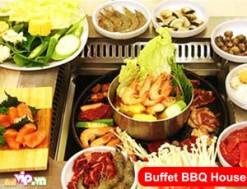 Thưởng Thc Buffet Nướng Và Lẩu Hải Sản - Phong Cách Ẩm Thực Singapore Tại Nhà Hàng BBQ House Với Voucher 252.000VND Giảm 40% Scho Giá Trị Sử Dụng 417.000VND Chỉ Có tại Dealvip.vn