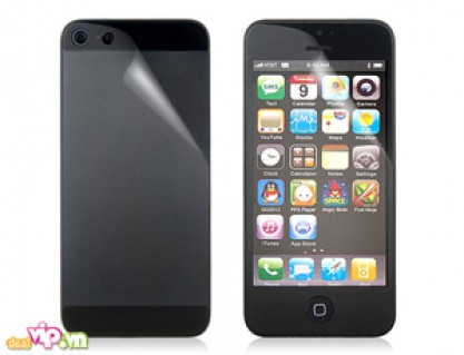 Bảo Vệ Iphone 5 Với Bộ 02 Miếng Dán Cao Cấp + Khăn Lau: Chống Mỏi Mắt Và Tăng Độ Nhạy Cảm Ứng Màn Hình Giá 35.000VND Giảm 65% So Với Giá Gốc 99.000VND Chỉ Có Tại Dealvip.vn