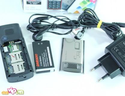 Điện thoại Darago T800 – 2013 Nhiều Tính Năng Vượt Trội : Camera, Blutooth, FM radio, Mp3/Mp4 Giá 980.000VND Giảm Còn 420.000VND Tiết Kiệm 57% Chỉ Có tại Dealvip.vn