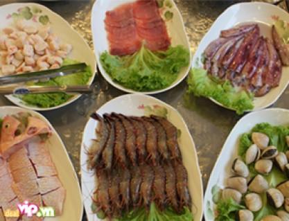DEALHOT: Giảm Giá Đặc Biệt Tại Nhà Hàng Paradise Hot Pot : Thưởng Thức Buffet Hải Sản Và Các Món Nướng Cay Cay, Thơm Ngon Phong Cách Singapore
