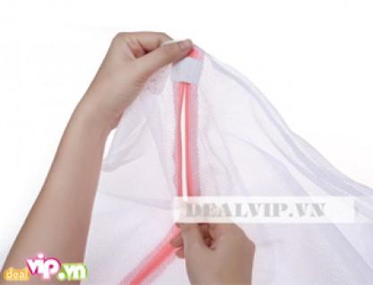 Combo 2 Túi Lưới Giặt Đồ - Chất Liệu 100% Polyester – Bảo Bệ Hữu Hiệu Cho Quần Áo Của Bạn Khi Giặt Bằng Máy Giá 44.000 VNĐ, Giảm 56% So Với Giá Gốc 100.000 VNĐ Chỉ Có Tại Dealvip.vn