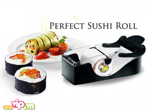 Deal Vip - Thuong Thuc Mon Sushi Thom Ngon Hap Dan Va Rat Nhanh Chong Voi May Lam Sushi Sieu Toc Perfect Roll Sushi . Gia 79.000VND. Chi Co Tai Dealvip.vn