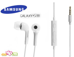 Deal Vip - Tai Nghe Samsung Galaxy S3 Chinh Hang Co Chuc Nang Loc Tap Am Cho Am Thanh Song Dong Chan Thuc. Gia 49.000VND Chi Co Tai Dealvip.vn