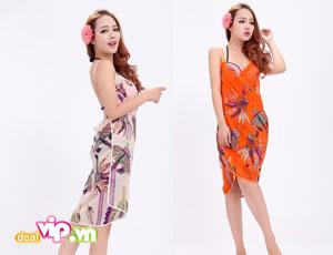 Deal Vip - Khan Tam Di Bien Kieu Moi 2 Trong 1 Vai Silk Mem Mai, Tham Hut Nuoc Nhanh. Gia 85.000VND Chi Co Tai Dealvip.vn
