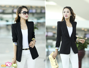 Deal Vip - Ao Vest New Styles Tay Lat Hoa Phong Cach Han Quoc Nhieu Mau Sac Tre Trung Gia 139.000VND Chi Co Tai Dealvip.vn