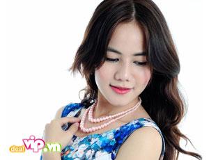 Deal Vip - Day Chuyen Ngoc Trai Nhua Mang Bieu tuong Tinh yeu - Hanh Phuc- May Man Va Thanh Cong. Gia 47.000DVND