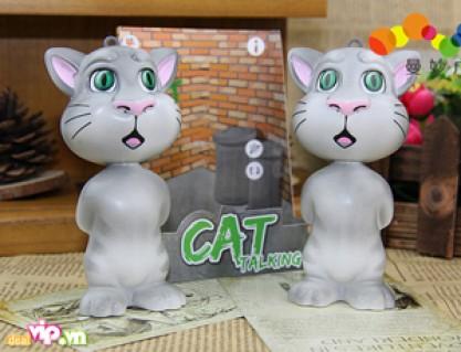 Mèo Biết Nói Talking Tom Cat Mini – Có Thể Lặp Lại Giọng Nói Người Trong Vòng 10s Bằng Giọng Nói Ngộ Nghĩnh – Món Quà Độc Đáo Dành Cho Trẻ Giá 80.000VND Giảm 47% So Với Giá Gốc - Sản phẩm cho bé