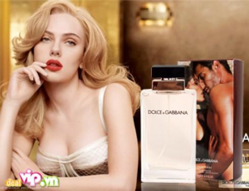 Nước hoa Nữ Dolce & Gabbana 100ml Giúp Lưu Lại Hương Thơm Nữ Tính Ngọt Ngào Giá 350.000VND Giảm Còn 125.000VND Tiết Kiệm 64% Chỉ Có Tại Dealvip.vn