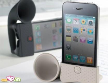 Loa Horn Stand Dành Cho Iphone 4S, 4, 3GS, 3G – Giúp Khuếch Đại Âm Thanh Lên Nhiều Lần – Không Cần Xạc Pin Giá 55.000VND Giảm 54% So Với Giá Gốc 120.000VND Chỉ Có Tại Dealvip.vn