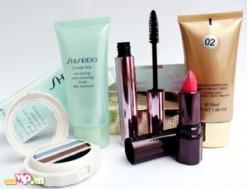Trọn Bộ 05 Sản Phẩm Shiseido: Phấn mắt Shiseido, Son Môi Shiseido, BB Base Shiseido Mascara Shiseido. Gel Tẩy Trang White Lucent Shiseido Giá 180.000VND Giảm 49% So Với Giá Gốc 350.000VND Chỉ Có Tại Dealvip.vn