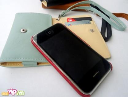 Ví Iphone 2 Trong 1 : Vừa Là Bao Da Đựng Điện Thoại Vừa Là Ví Đựng Tiền Dành Cho Cả Nam Và Nữ Giá 120.000VND Giảm Còn 59.000VND Chỉ Có Tại Dealvip.vn