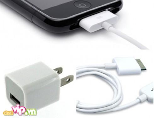 Cáp Sạc iPhone 3G, 3Gs, 4G Cao Cấp : Phụ Kiện Chuẩn Dành Cho iPhone 3G, 3Gs, 4G, Kết Nối Cổng Cổng USB 2.0 Giúp Sạc Đầy Pin Không Làm Chai Pin Giá 130.000VND Giảm Còn 65.000VND Chỉ Có Tại Dealvip.vn
