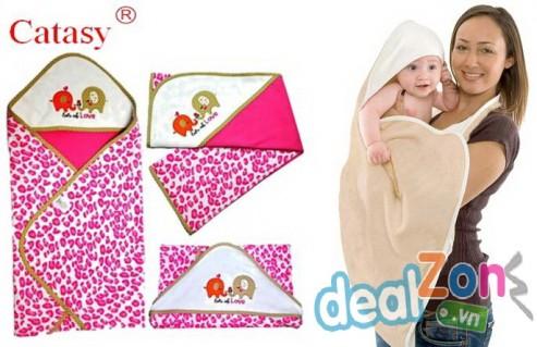 Set 2 khăn choàng Catasy - Sản phẩm cho bé