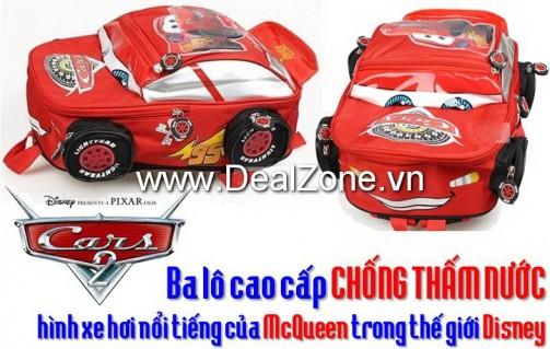 Ba lô xe hơi cao cấp Mc.Queen - Sản phẩm cho bé