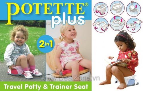 Bô di động 2 in 1 POTETTE PLUS - Sản phẩm cho bé