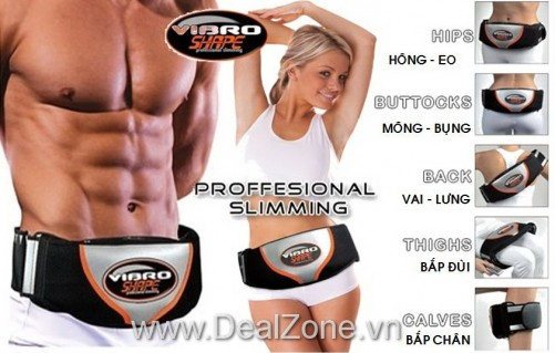 Đai Massage & Quấn Nóng VIBRO SHAPE