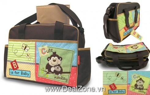 Túi đựng đồ cho mẹ & bé Luv U Zoo