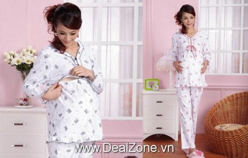 Đồ bộ hình gấu cho mẹ trước & sau sinh