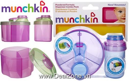 Set 02 hộp chia sữa Munchkin (1 lớn & 1 nhỏ)