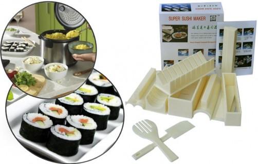 Bộ Sản Phẩm 10 Dụng Cụ Làm Sushi