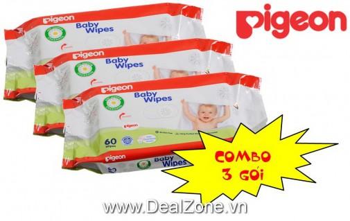 DZ1307 - Combo 3 gói khăn giấy PIGEON
