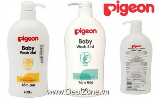 DZ1244 - Sữa tắm gội 2in1 PIGEON (700ml)