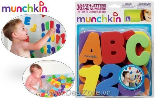 DZ981 - Bộ 36 bộ chữ cái & số Munchkin