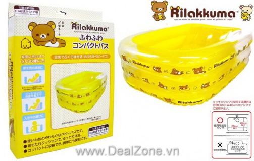 DZ1118 - Bể tắm bơm hơi 2 tư thế cho bé