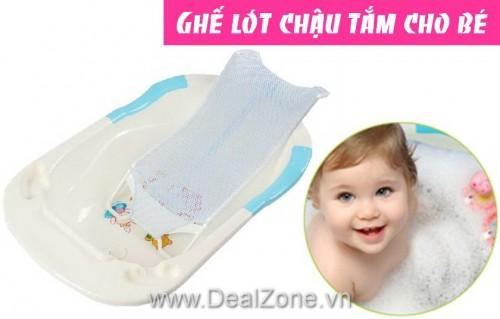DZ261 - Ghế lót chậu tắm cho bé