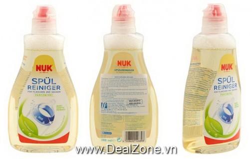 DZ1348 - Nước rửa bình sữa NUK 380ml
