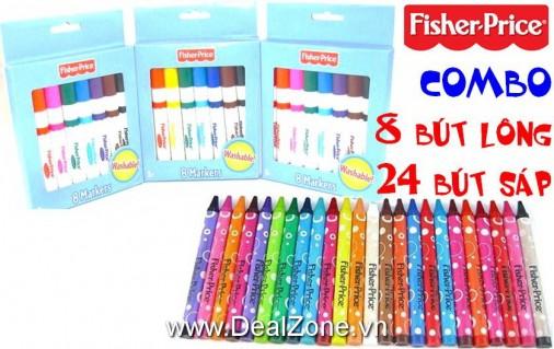 DZ1091 - Combo bút màu vẽ FISHER PRICE