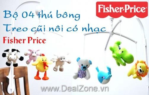 DZ647 - Thú bông treo nôi Fisher Price