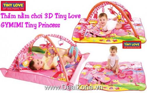 DZ834 - Thảm Tiny Love Princess 3D có nhạc