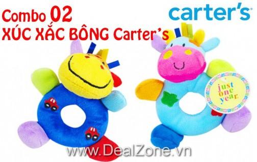 DZ706 - Combo 02 xúc xắc bông Carter's