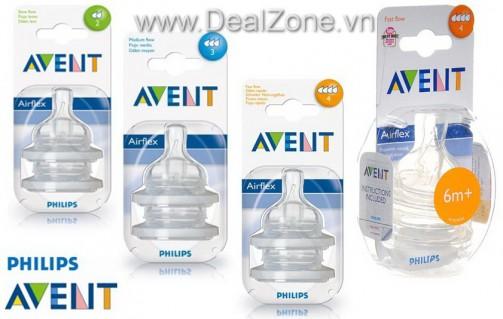 DZ569 - Set 02 ty thay bình sữa Avent (thường)