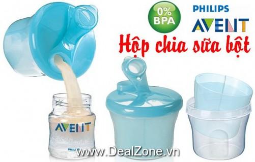 DZ542 - Hộp chia sữa bột PHILIPS AVENT
