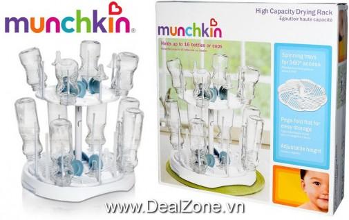 DZ977 - Giá úp bình sữa 2 tầng Munchkin