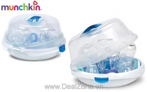 DZ949 - Hộp tiệt trùng bình sữa bằng lò vi...