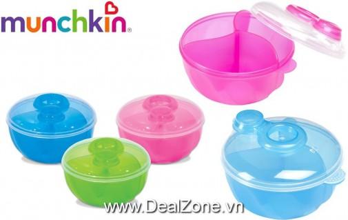 DZ964 - Hộp chia sữa MUNCHKIN 3 ngăn 9oz