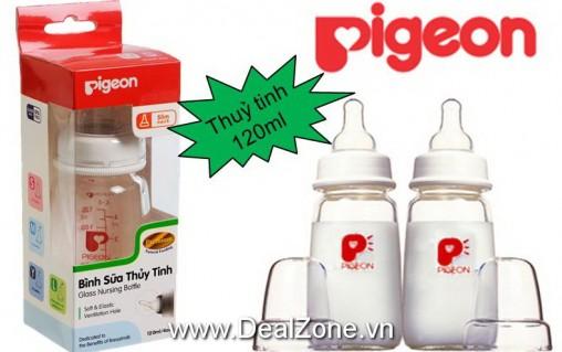 DZ1234 - Bình sữa Pigeon Thủy Tinh 120ml