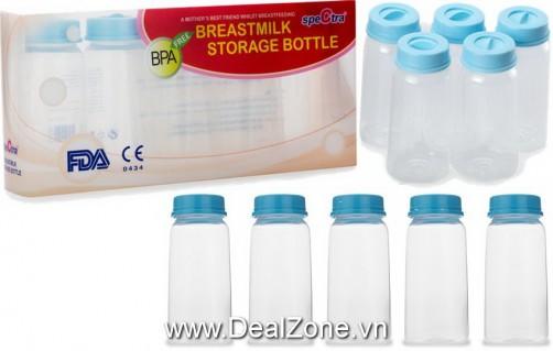 DZ1049 - Bình trữ sữa mẹ Spectra (bộ 5 cái)