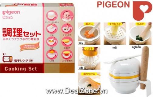 DZ1137 - Bộ chế biến thức ăn Pigeon (xách...